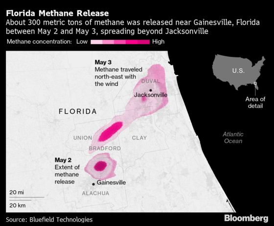 No One Is Owning Up to Releasing Cloud of Methane in Florida