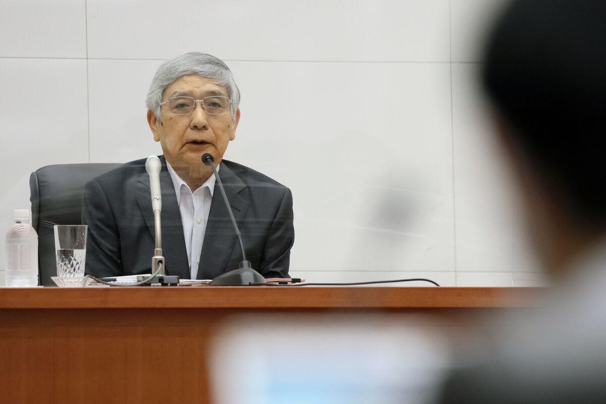 黒田総裁、現在の円安「プラス確実」-輸出や海外子会社に好影響