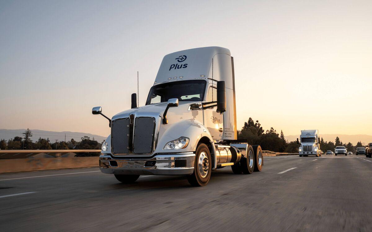 Sequoia-Backed Driverless Truck Startup Seeks SPAC Merger