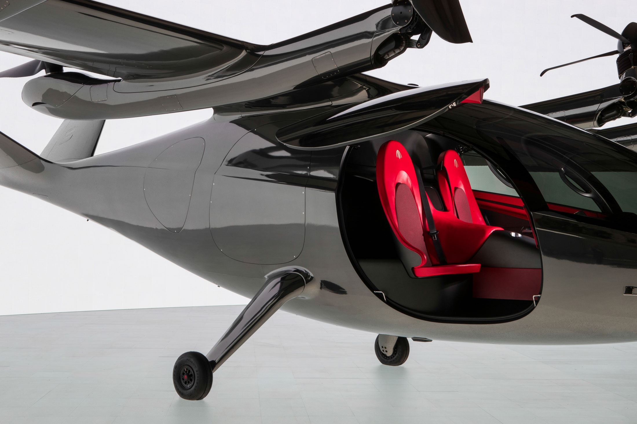 relates to Electric Flying Taxi Backed by United Airlines Unveiled in L.A.