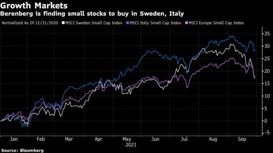 One of Europe's Top Stock Pickers Is Buying Swedish Small Caps