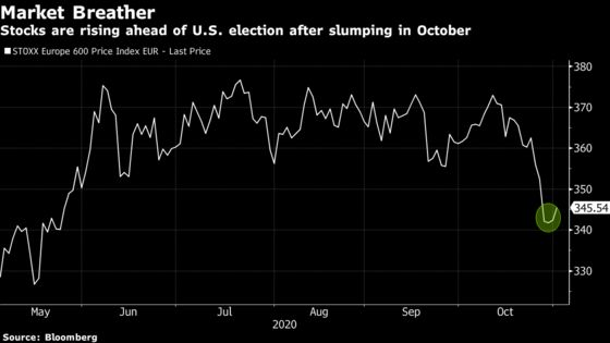 European Stocks Rally Most in Five Weeks After October Rout
