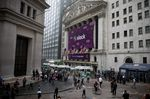 Trading On The Floor Of NYSE As Slack Releases IPO