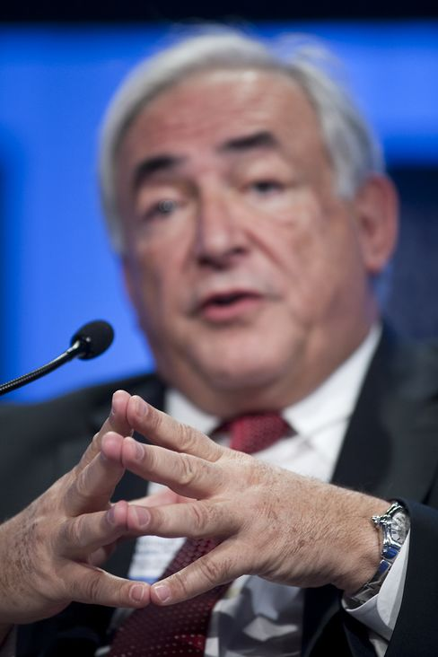 Dominique Strauss-Kahn of the IMF
