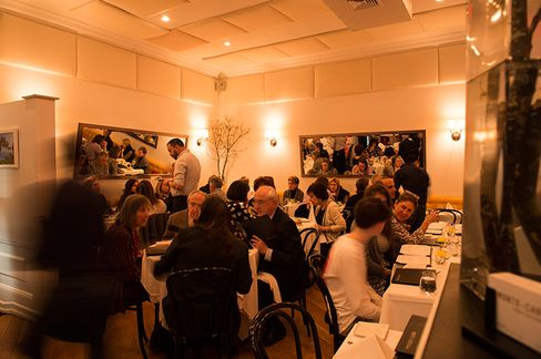 Monte Carlo's understateddining room is packed most evenings.