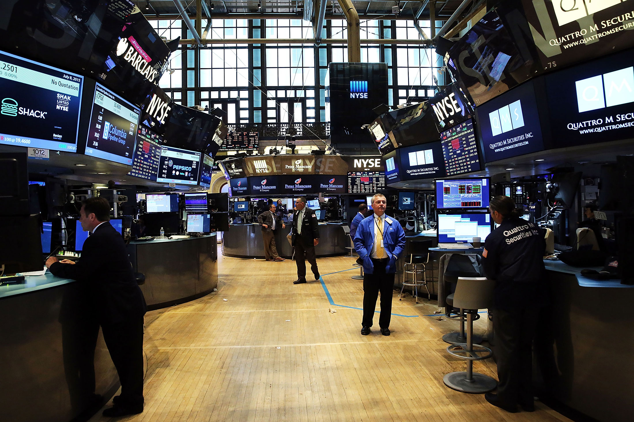 Exchange Service Center >> NYSE Resumes Trading on Two Markets After Hours-Long Halt ...
