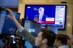 Trading On The Floor Of The NYSE As Fed Releases Rate Decision