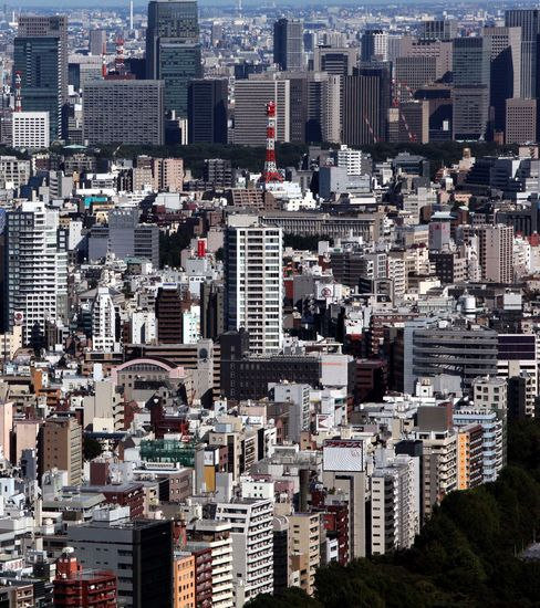 Tokyo Office Rents to Fall in Next Six Months