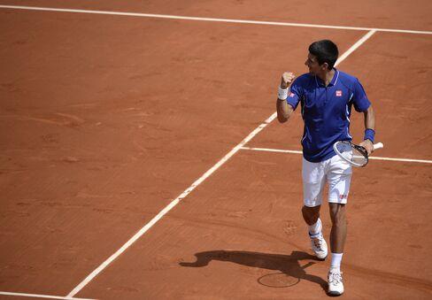 Tennis Player Novak Djokovic