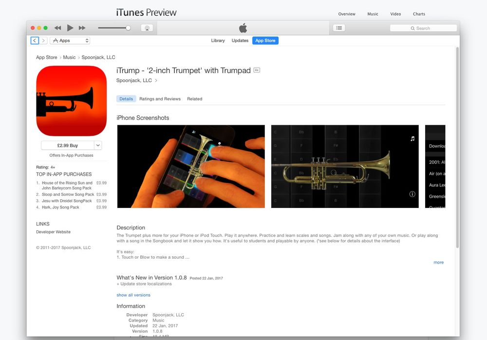 Maker of 'iTrump' Trumpet App Silences Trump in Trademark Fight