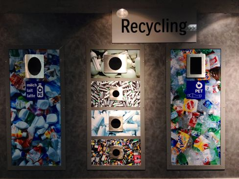 Recycling Units in Zurich
