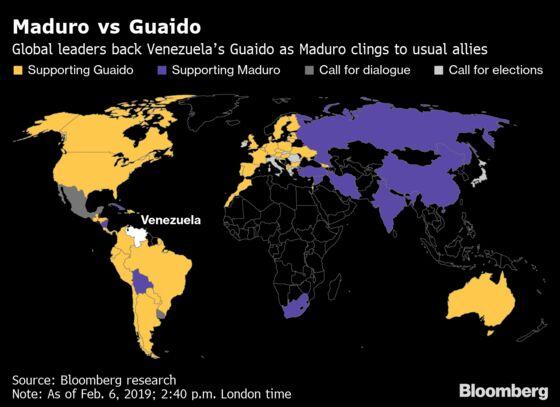 Senators Fail to Reach Deal on Recognizing Venezuela's Guaido, Aide Says