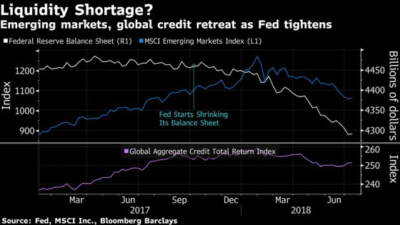 Markets Tell Fed Tightening Must Stop, Macquarie's Shvets Says