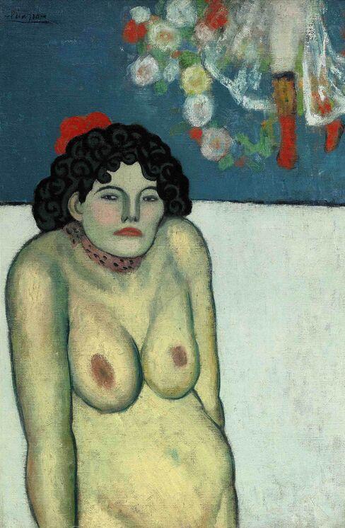 "Picasso's ""La Gommeuse"""