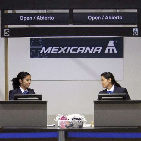 Mexicana de Aviacion Files for Bankruptcy in Mexico