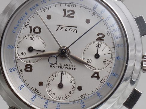 """The """"rattrapante"""" tells you this is a split-second chronograph."""
