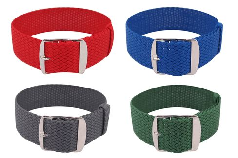 Perlon straps are the real deal for summer.