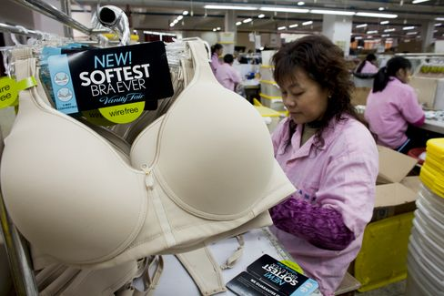 China Loses Calvin Klein Bra Maker to Southeast Asia on Cost
