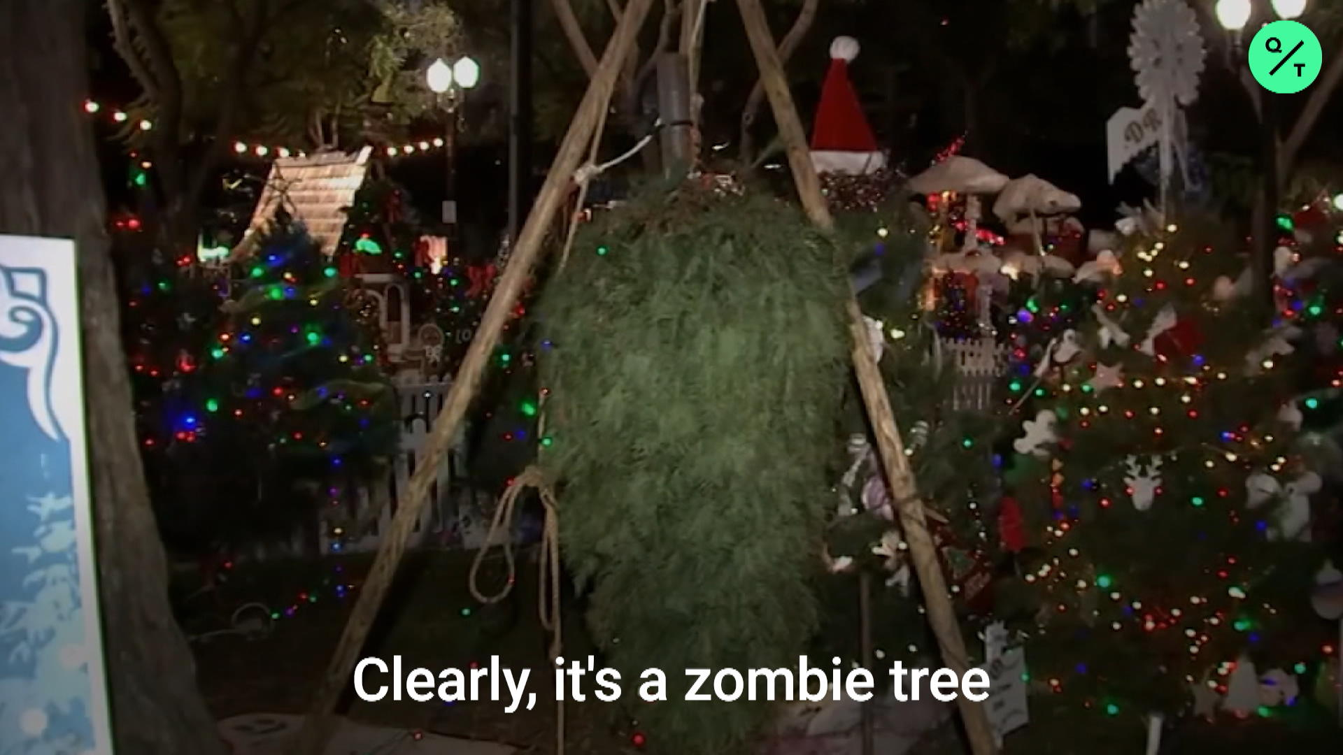 Upside Down Christmas Tree Controversy