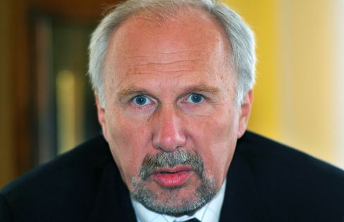 European Central Bank Governing Council Member Ewald Nowotny