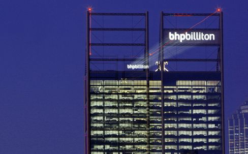 BHP Billiton Markets First Bond Sale in Australia Since 2001