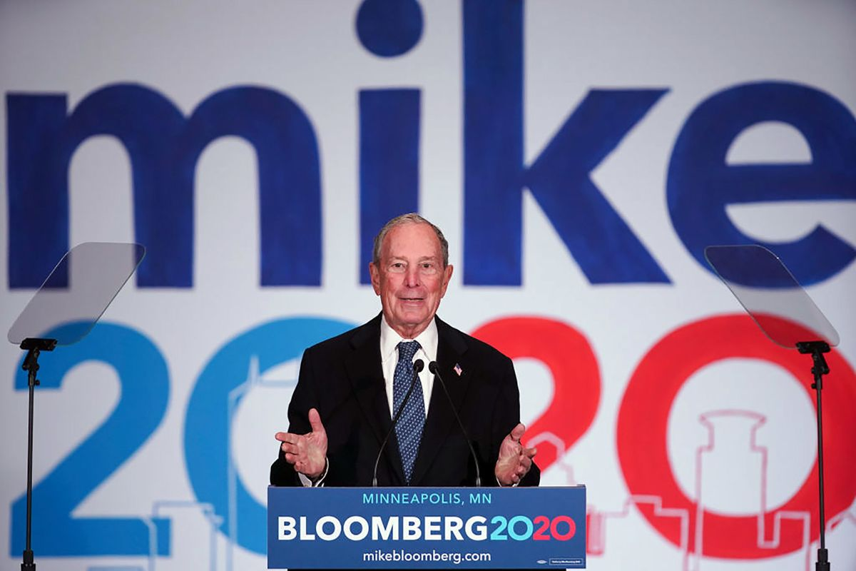 Bloomberg Offers Few Details to Back Up Trillions in Spending