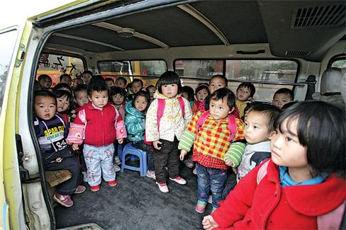 Making Safe School Buses for China's Kids