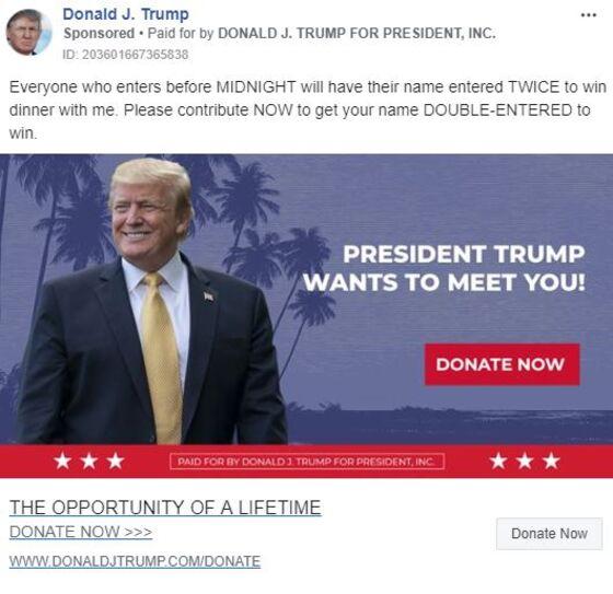 Donald Trump's Facebook Ads Look Different Than Democrats'