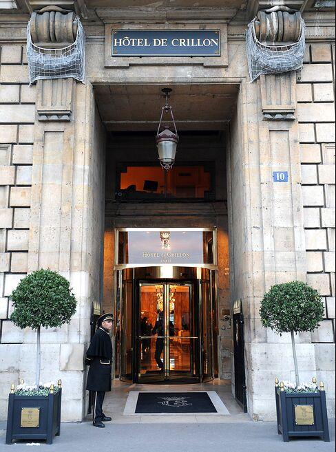 Paris's Crillon Hotel Puts it All on Sale