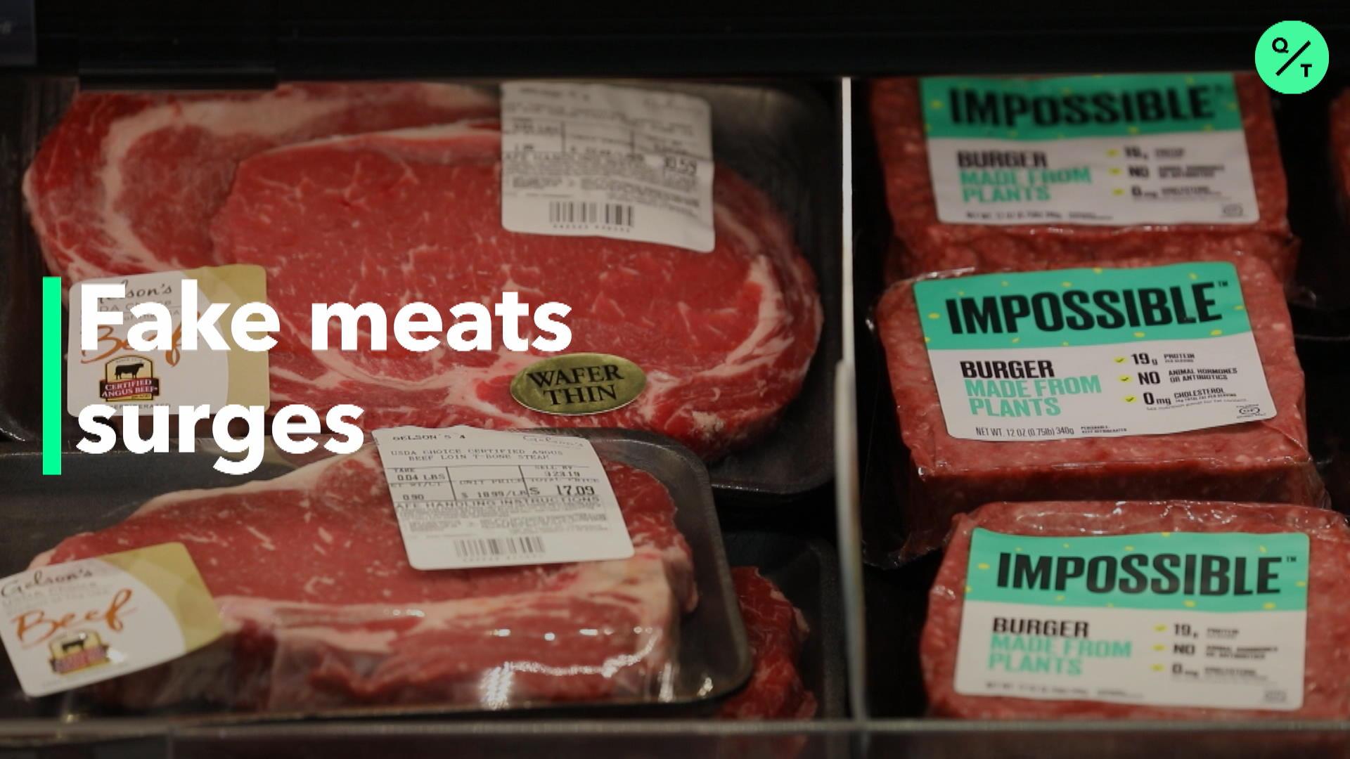 Fake Meat Startups Rake In Cash Bloomberg