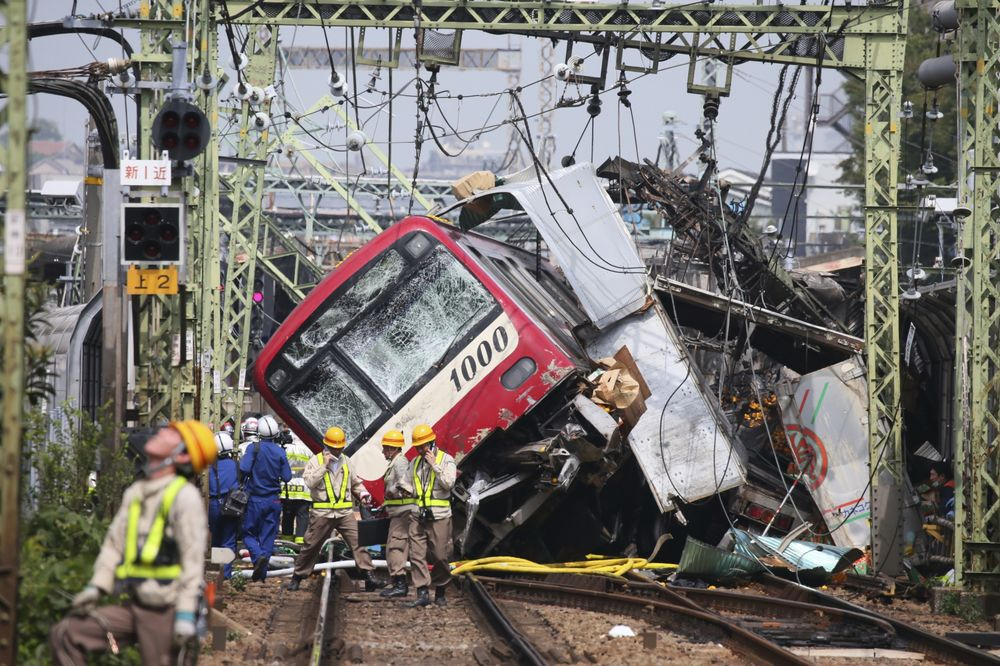 Truck, Train Collide At Rail Crossing Near Tokyo, 30 Injured
