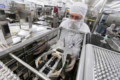 A Clean Room at the Texas Instruments Semiconductor Plant