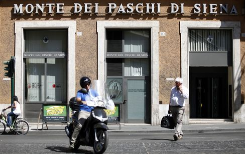 Monte Paschi to Seek 3.4 Billion Euros in Government Aid