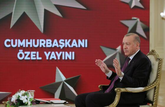 Erdogan Renews Rate-Cut Demands as Economy Erodes Support