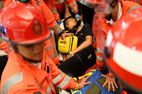 Hong Kong Airport Beatings Show Protesters' Fears Running Wild