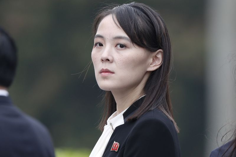 Kim Yo Jong. Photographer: Jorge Silva/Pool via Bloomberg