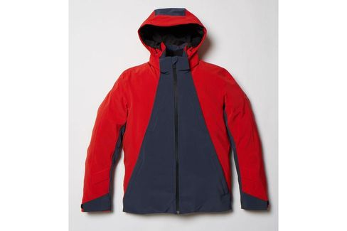 """The Aztech Mountain Triangle Jacket. """"I'm constantly testing stuff,"""" Miller said. """"I've always done that with sports equipment and clothes. It's part of my natural curiosity."""""""