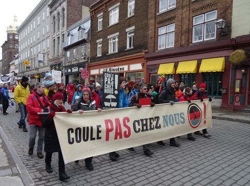 Climate March in Quebec City
