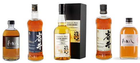 Japan's new bottles of note.