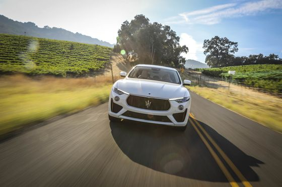 With the Levante GTS, Maserati Creeps Up on the Porsche Cayenne