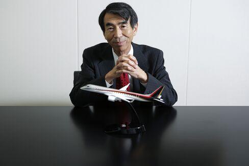 Mitsubishi Aircraft President Teruaki Kawai