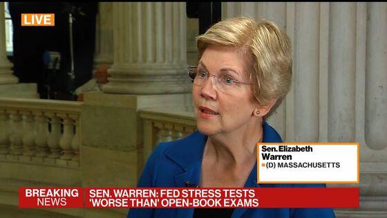 Warren Says Facebook Funds 'Dark Money,' Undermines Democracy