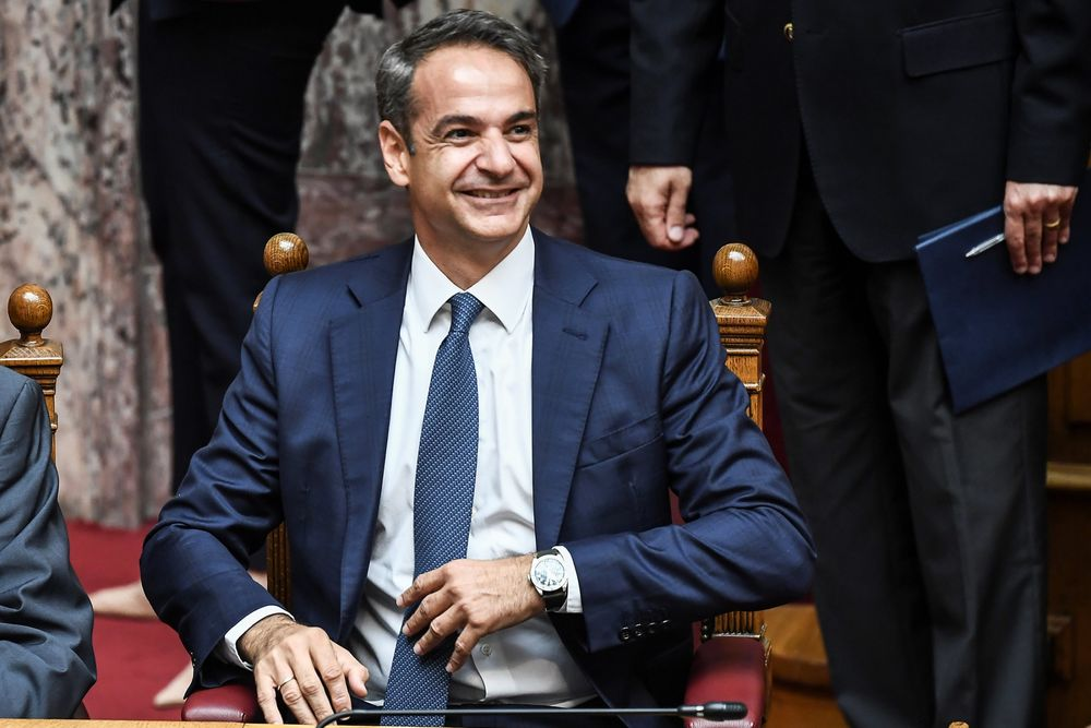 New Greek Leader Unveils Economic Plan in First Policy Speech
