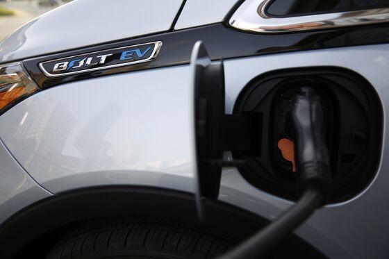 GM Recalls All Bolt EVs on Fire Risk; Sees $1 Billion Cost