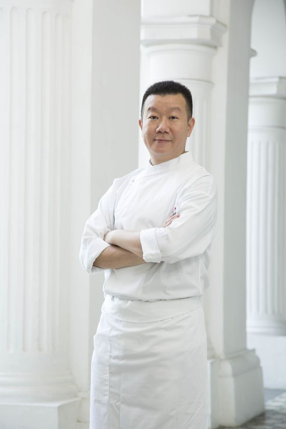 At the New Raffles, Two of the World's Best Chefs Come to Singapore