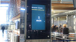 The BlipTrack technology in Oslo Airport