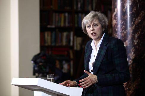 Theresa May on June 30.