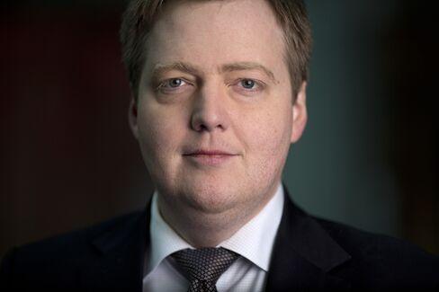 Iceland Prime Minister Sigmundur Gunnlaugsson