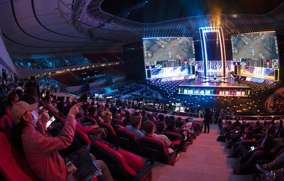 Tencent Bets Billions on Gamers With More Fans Than NBA Stars
