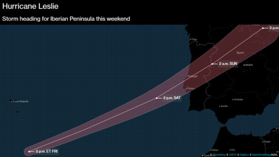 Portugal Is Facing the Region's Strongest Atlantic Storm Since 1842